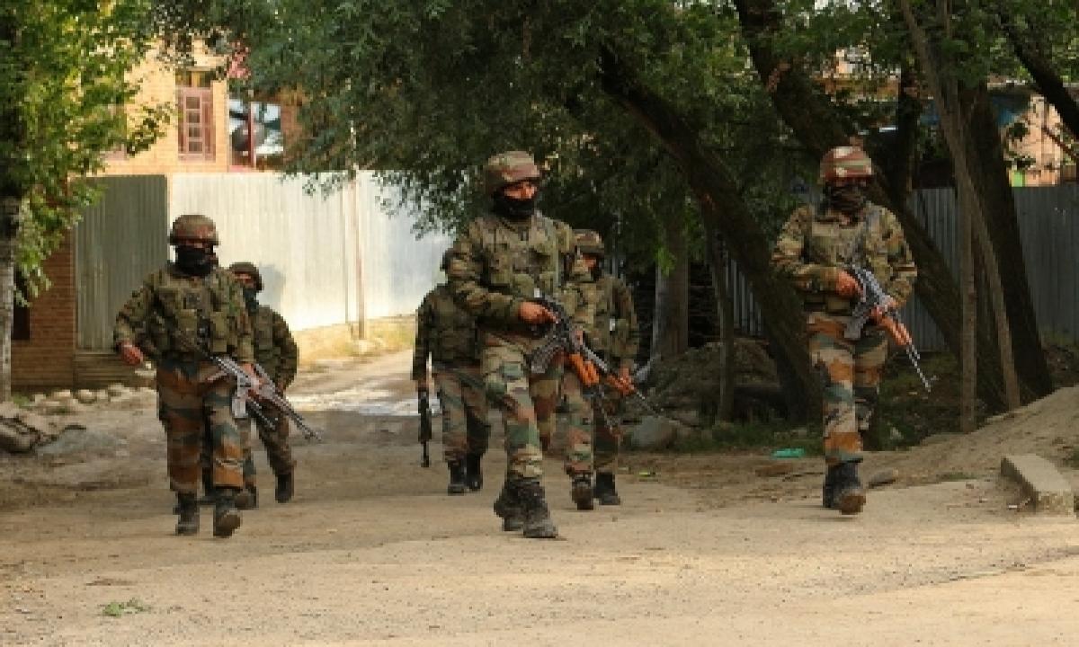 TeluguStop.com - 2 Terrorist Associates Arrested By J&k Police