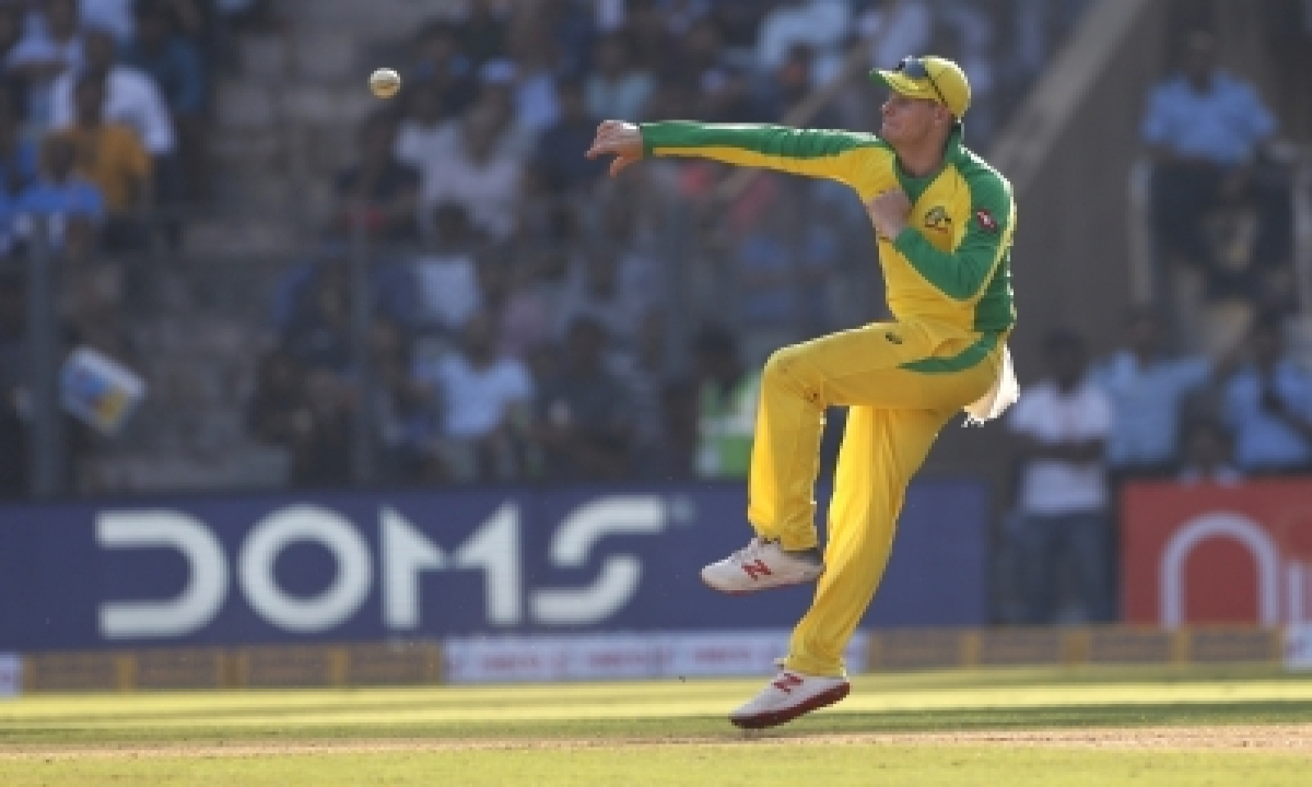 TeluguStop.com - 2nd Odi: Smith Fires Yet Again As Aus Set 390-run Target For India