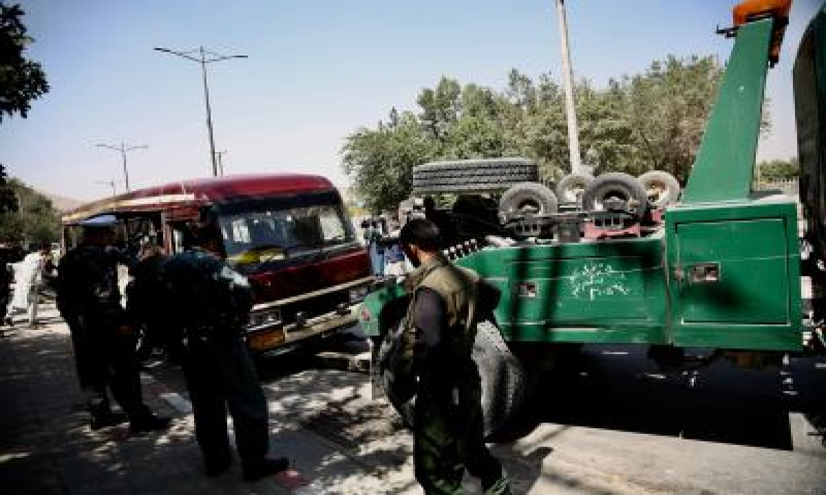 TeluguStop.com - 4 Killed In Separate Kabul Explosions (ld)