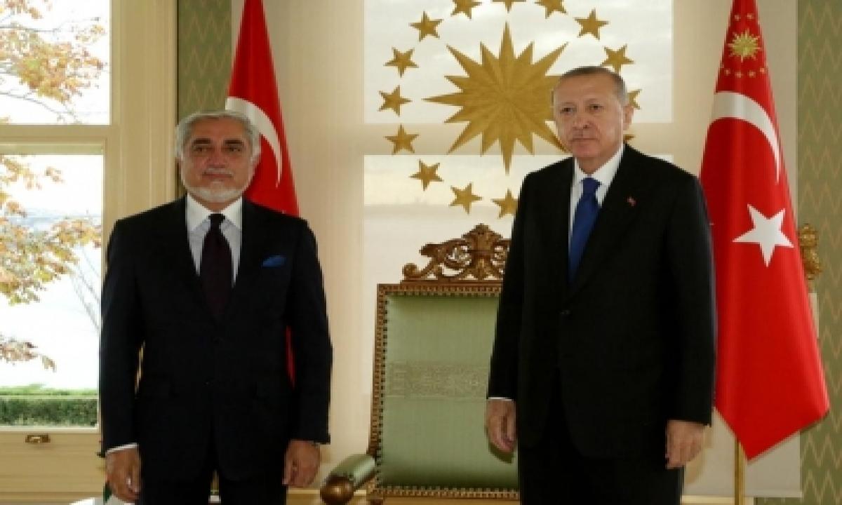 TeluguStop.com - Afghanistan's Abdullah Meets Turkish Prez Erdogan
