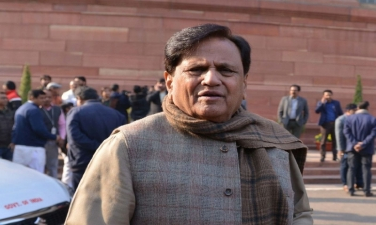 TeluguStop.com - Ahmed Patel To Be Buried In His Native Village Piraman On Thursday