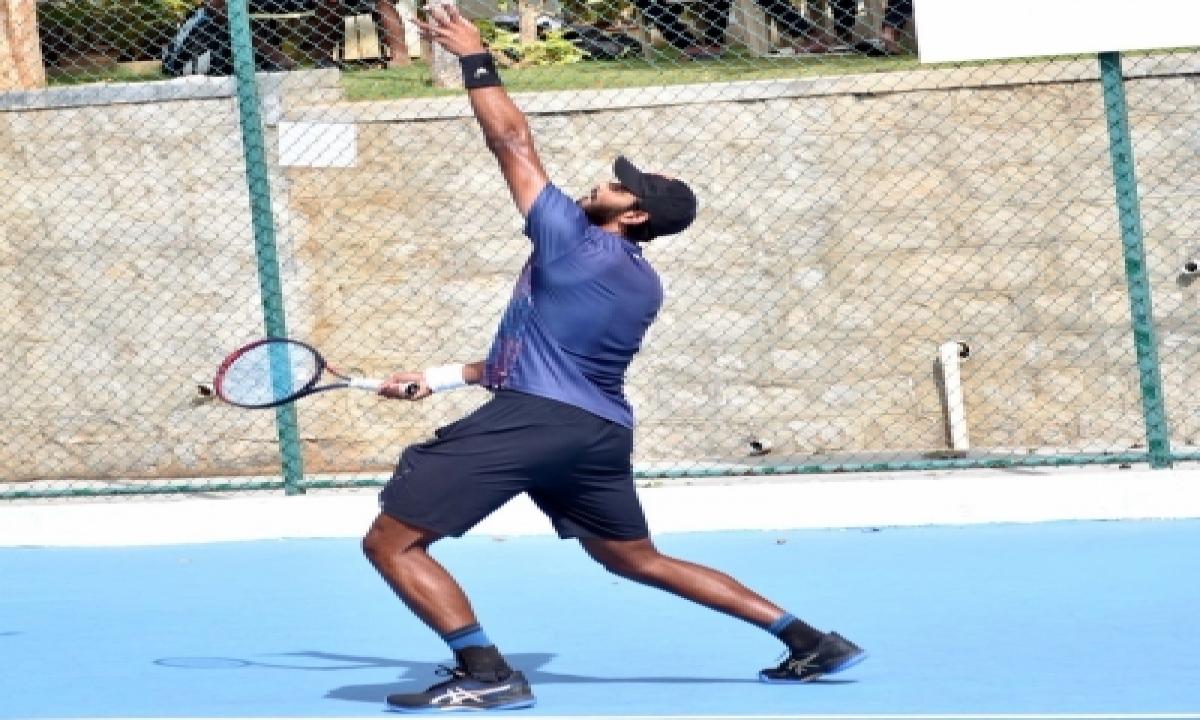 TeluguStop.com - Aita Women's Tennis: Pooja Stuns Top Seed Aarthi, Enters Quarters