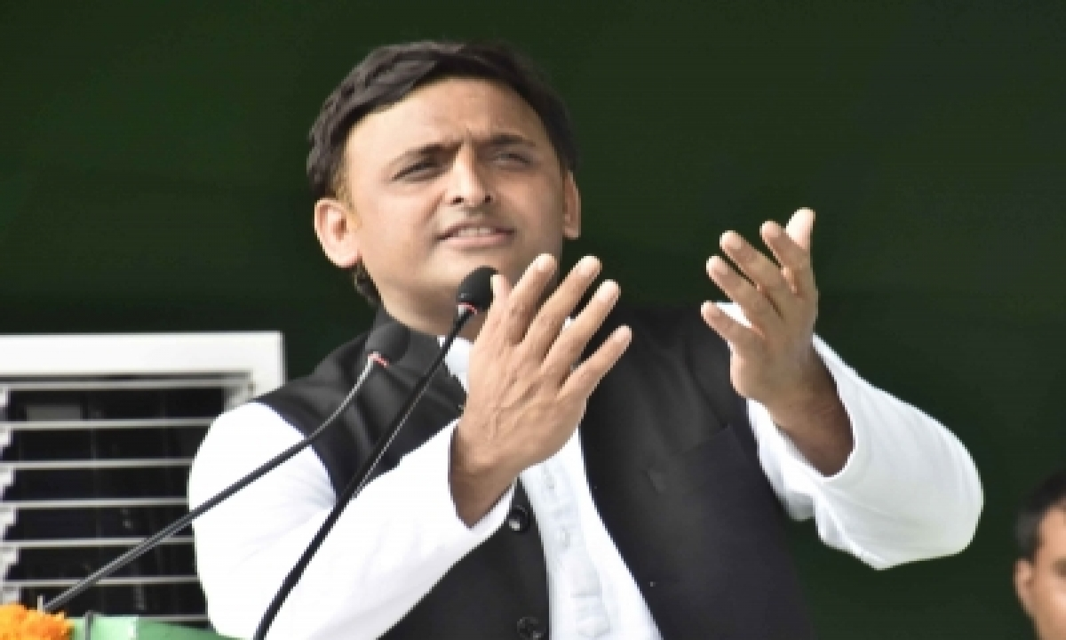 TeluguStop.com - Akhilesh Emerges As Main Challenger To Bjp Now