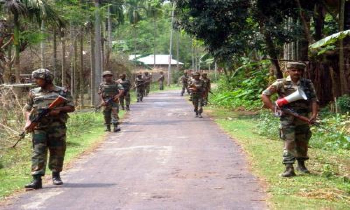 TeluguStop.com - Assam, Mizoram Home Secretaries To Meet To Resolve Border Row