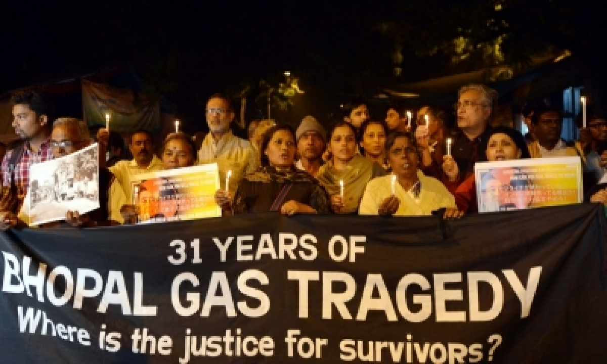 TeluguStop.com - Bhopal Gas Tragedy Victims Still Suffer From Obesity And Thyroid Problems