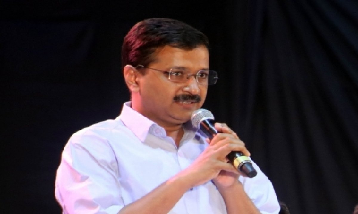TeluguStop.com - Centre Wanted Delhi Govt To Convert 9 Stadiums Into Jail For Farmers: Kejriwal