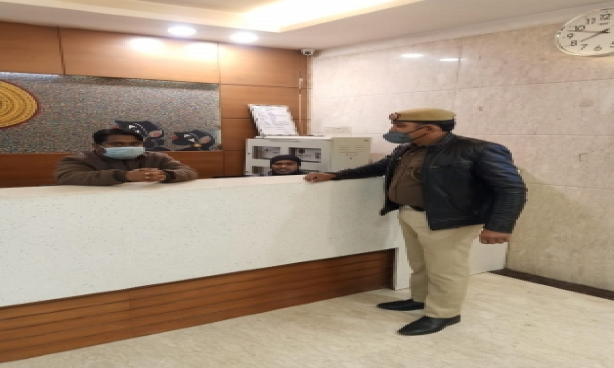 TeluguStop.com - Checking Intensified In Hotels, Malls Ahead Of R-day