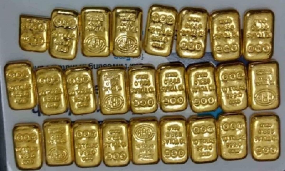TeluguStop.com - Chennai Air Customs Foils Bid To Smuggle Gold, Three Held
