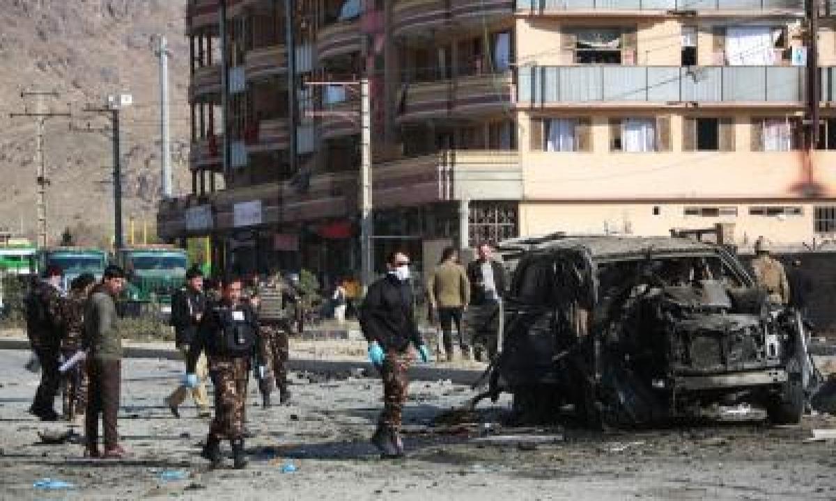 TeluguStop.com - Civilian Injured In Kabul Ied Blasts