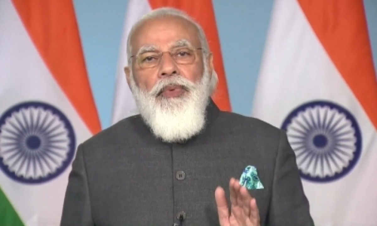 TeluguStop.com - Committed To Welfare Of Hardworking Farmers: Modi