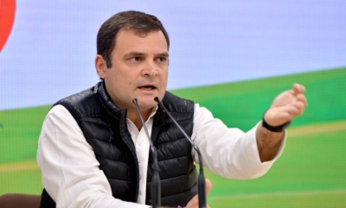 TeluguStop.com - Cong Steps Up Pressure On Govt Over Farmers' Stir, Rahul Takes Stock