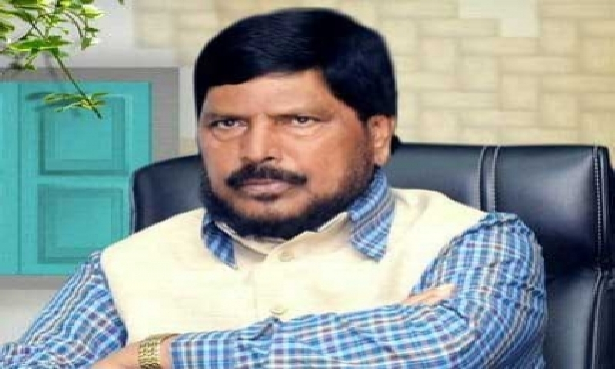 TeluguStop.com - Covid-19 Catches Athawale Who Coined The 'go Corona Go' Anthem (ld)