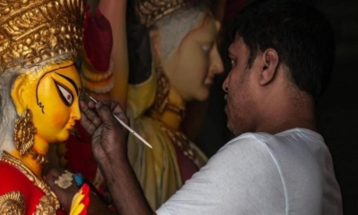 TeluguStop.com - Covid-19 Dampens Navratri, Durga Puja Celebrations