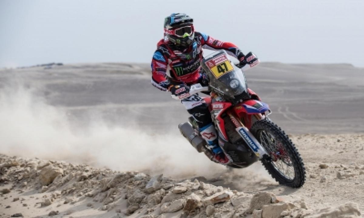 TeluguStop.com - Dakar Rally 2021: Benavides Takes Lead After Cornejo's Crash