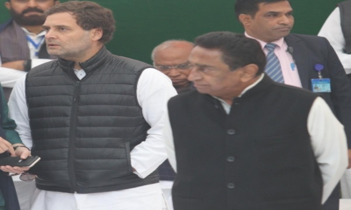 TeluguStop.com - Don't Appreciate Kamal Nath's 'unfortunate' Remark: Rahul