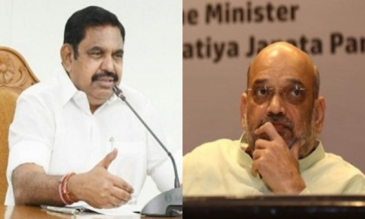 TeluguStop.com - Extend Financial, Technical Support To Tn Infra Projects: Cm To Shah