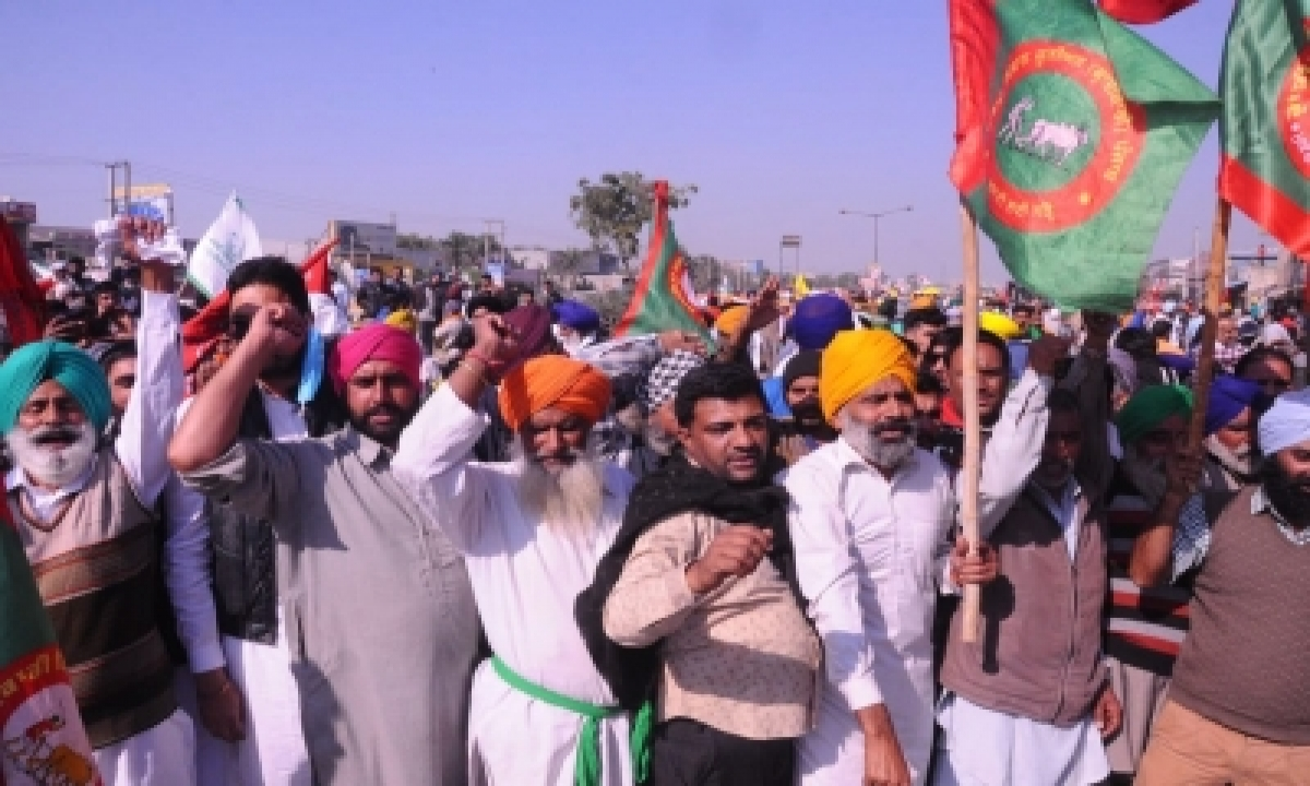 TeluguStop.com - Farmers Continue To Protest At Tikri Border, Situation Peaceful