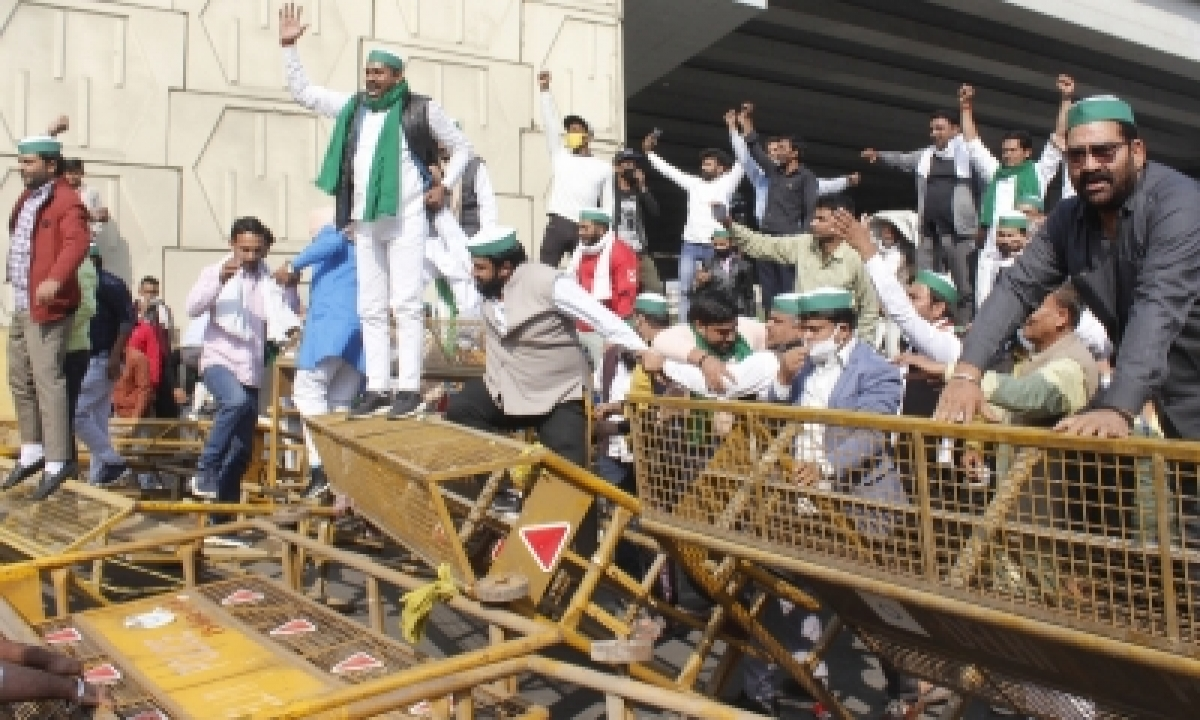 TeluguStop.com - Farmers Dig In Heels, Continue To Rally On Delhi Borders As More Join In