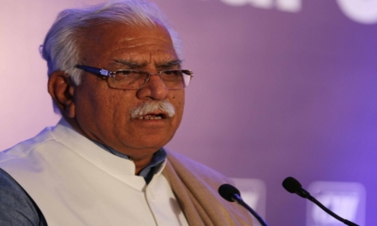 TeluguStop.com - Farmers' Protests Backed By Unwanted Elements Who Raised Khalistani Slogans: Khattar (ld)