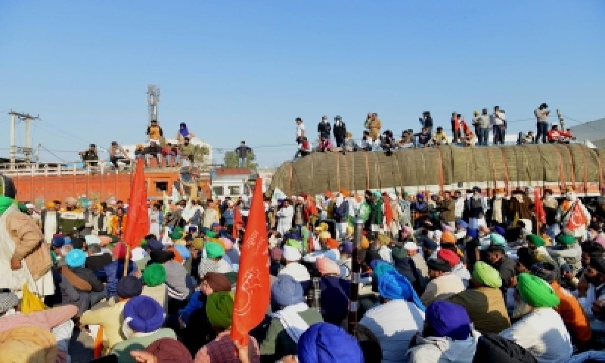 TeluguStop.com - Farmers Try To Go Ramlila Maidan, Police Take Them To Nirankari Ground