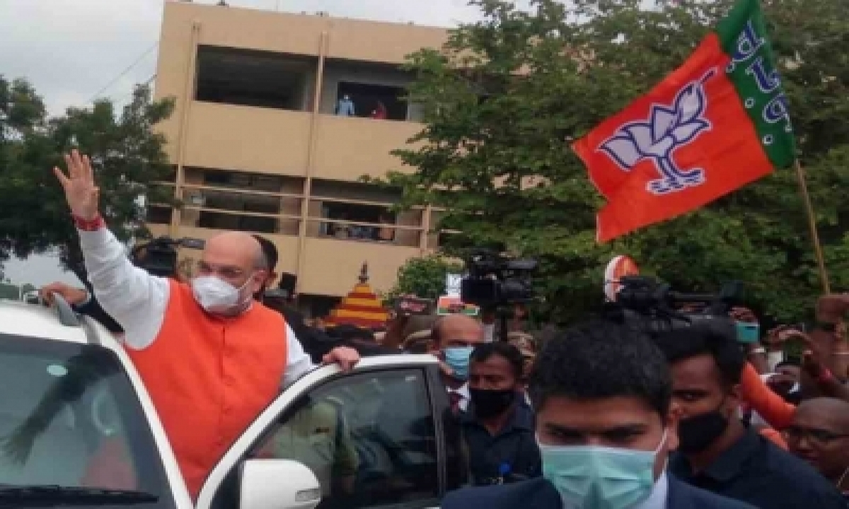TeluguStop.com - Ghmc Polls: Bjp Bigwigs, Owaisis Engage In No-holds-barred Attacks