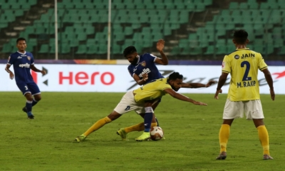 TeluguStop.com - Gomes Penalty Save Helps Kerala Blasters Secure Point Vs Chennaiyin