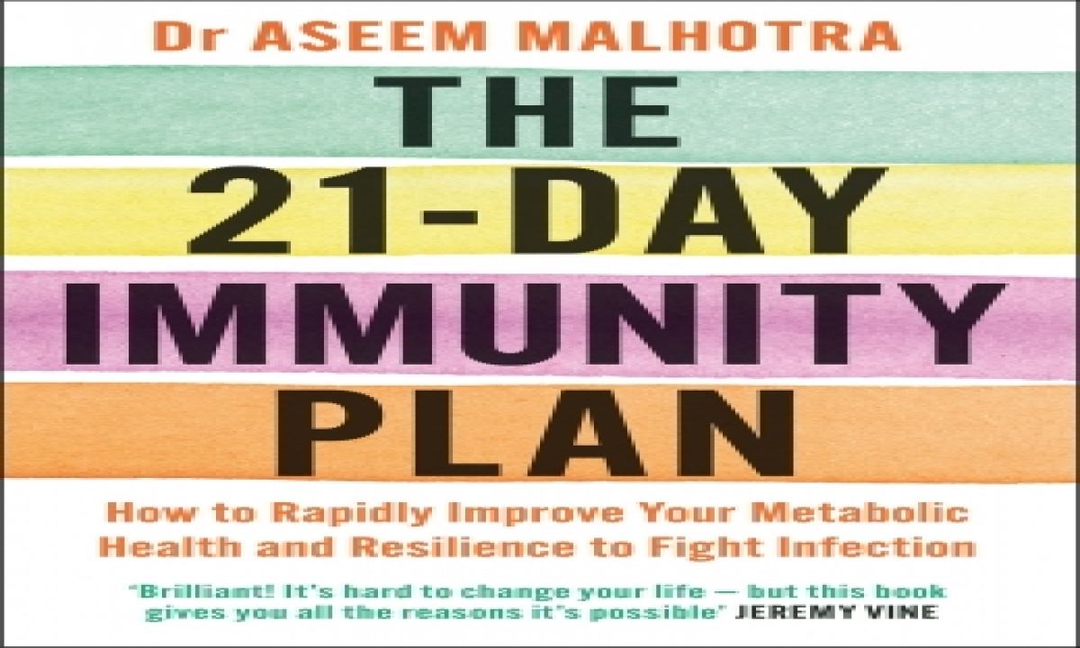 TeluguStop.com - Here's A 21-day Immunity Plan You Can Follow For Ever (book Review)