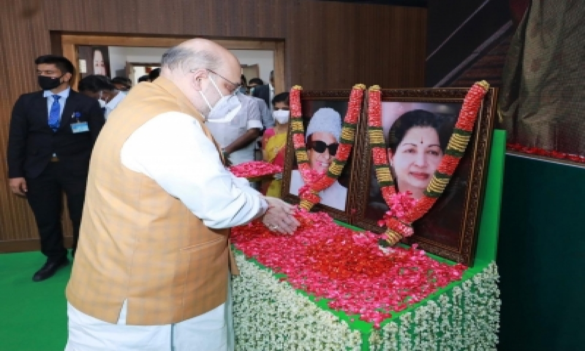 TeluguStop.com - How The Bjp Is Playing The Mgr Card To Make Inroads In Tamil Nadu