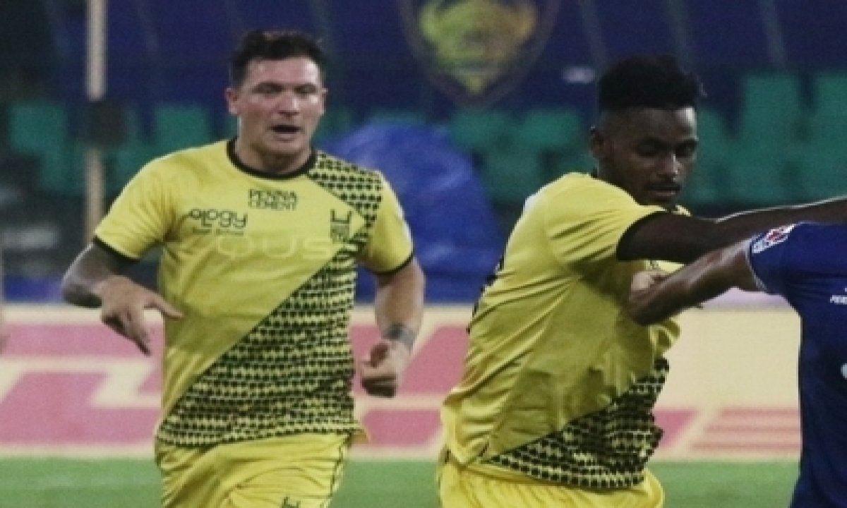 TeluguStop.com - Hyderabad, Jamshedpur Share Points In Dramatic 1-1 Draw