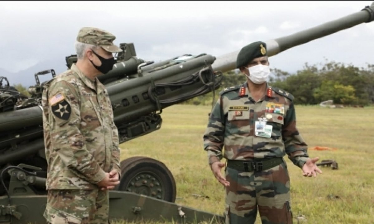 TeluguStop.com - Indian Army Vice Chief Meets Us Army Counterparts To Enhance Military Cooperation