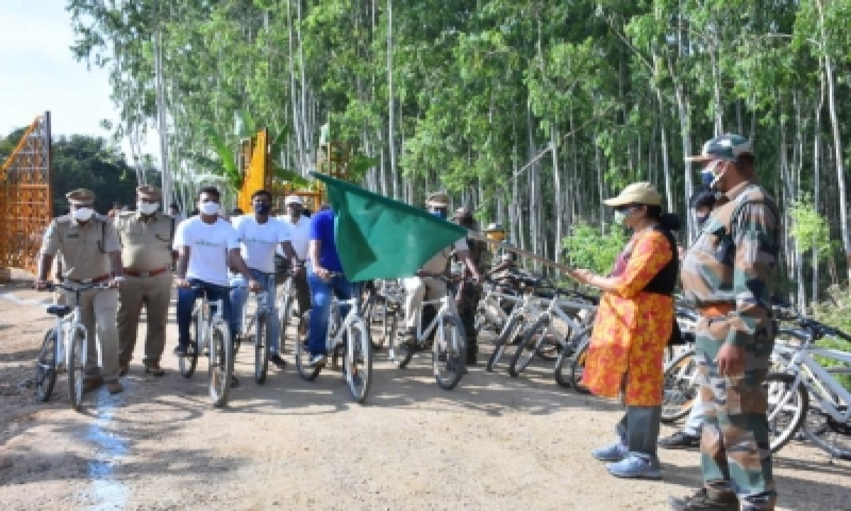 TeluguStop.com - India's First Wilderness Park Opened Near Hyderabad