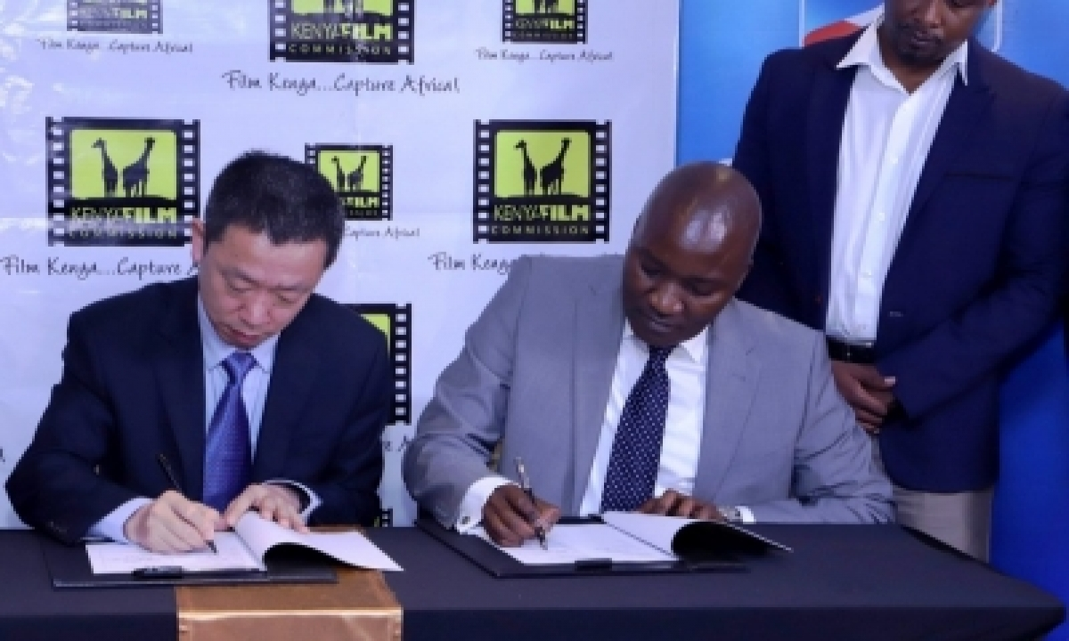 TeluguStop.com - Kenya Mulls To Co-produce Films With China