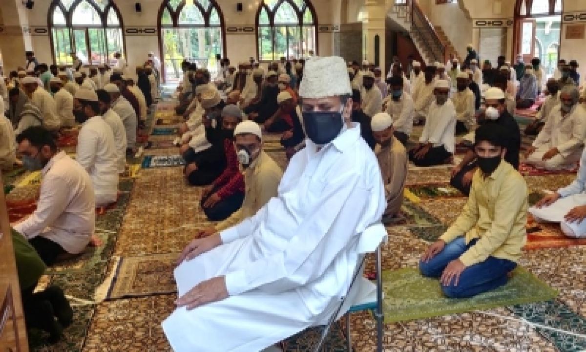 TeluguStop.com - K'taka Celebrates Eid On A Subdued Note