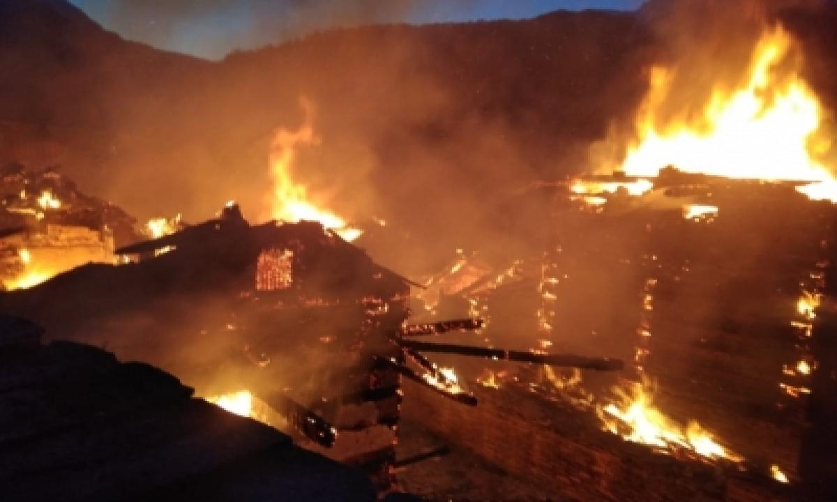 TeluguStop.com - Massive Fire Burns Records At Patna's Secretariat, Rjd Cries Foul