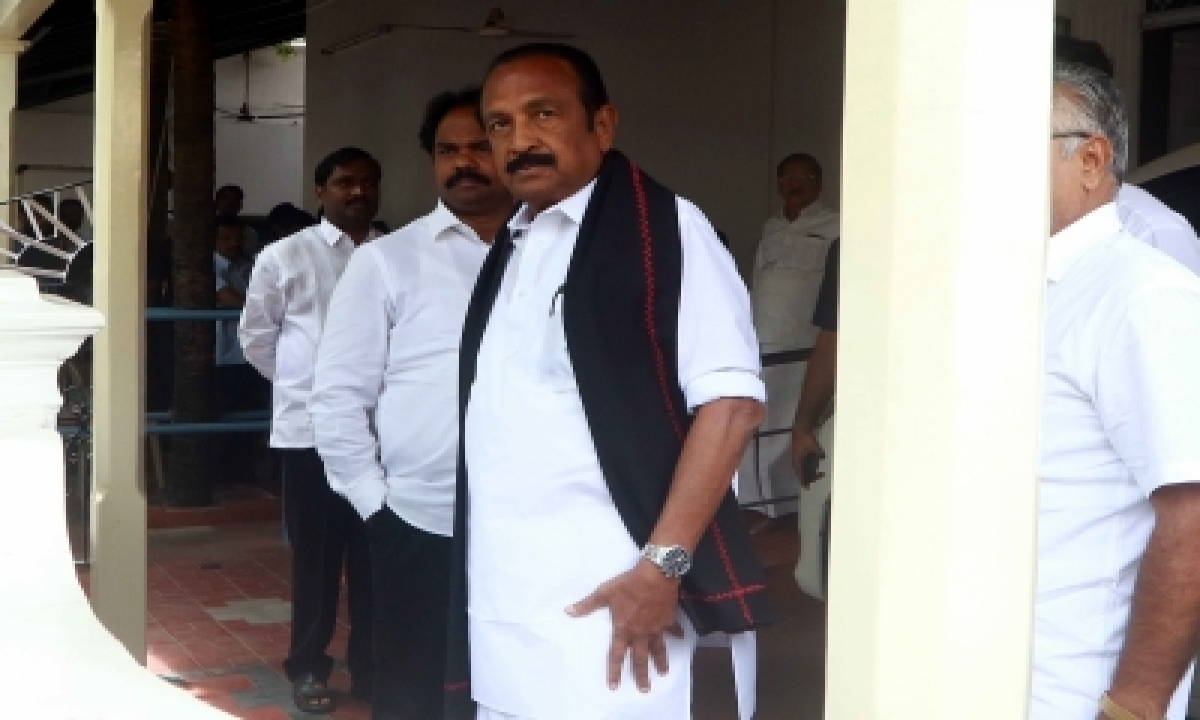 TeluguStop.com - Mdmk, Mmk Oppose Adani Group's Tn Port Expansion Plan