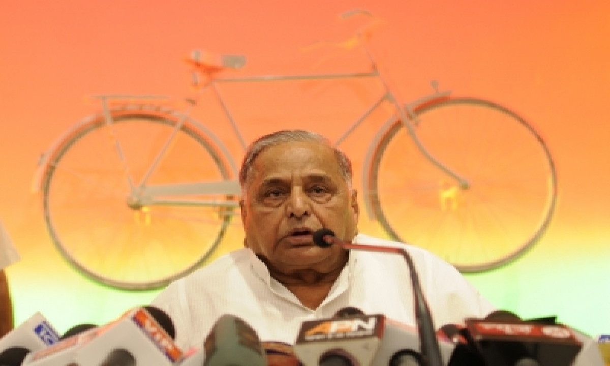 TeluguStop.com - Mulayam Visits Party Office On His Birthday