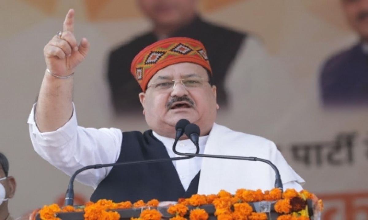 TeluguStop.com - Nadda To Kick Off 120-days India Tour From Uttarakhand In Dec