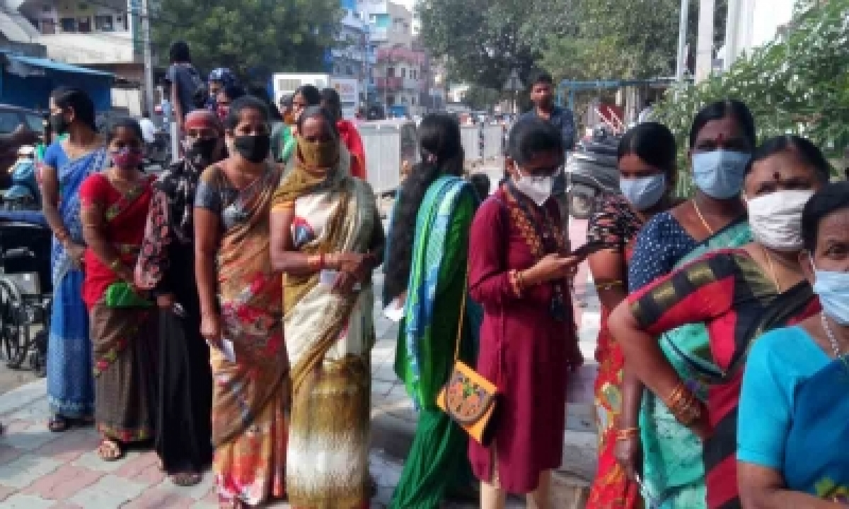 TeluguStop.com - Over 34 Lakh Votes Cast In Hyderabad Municipal Polls