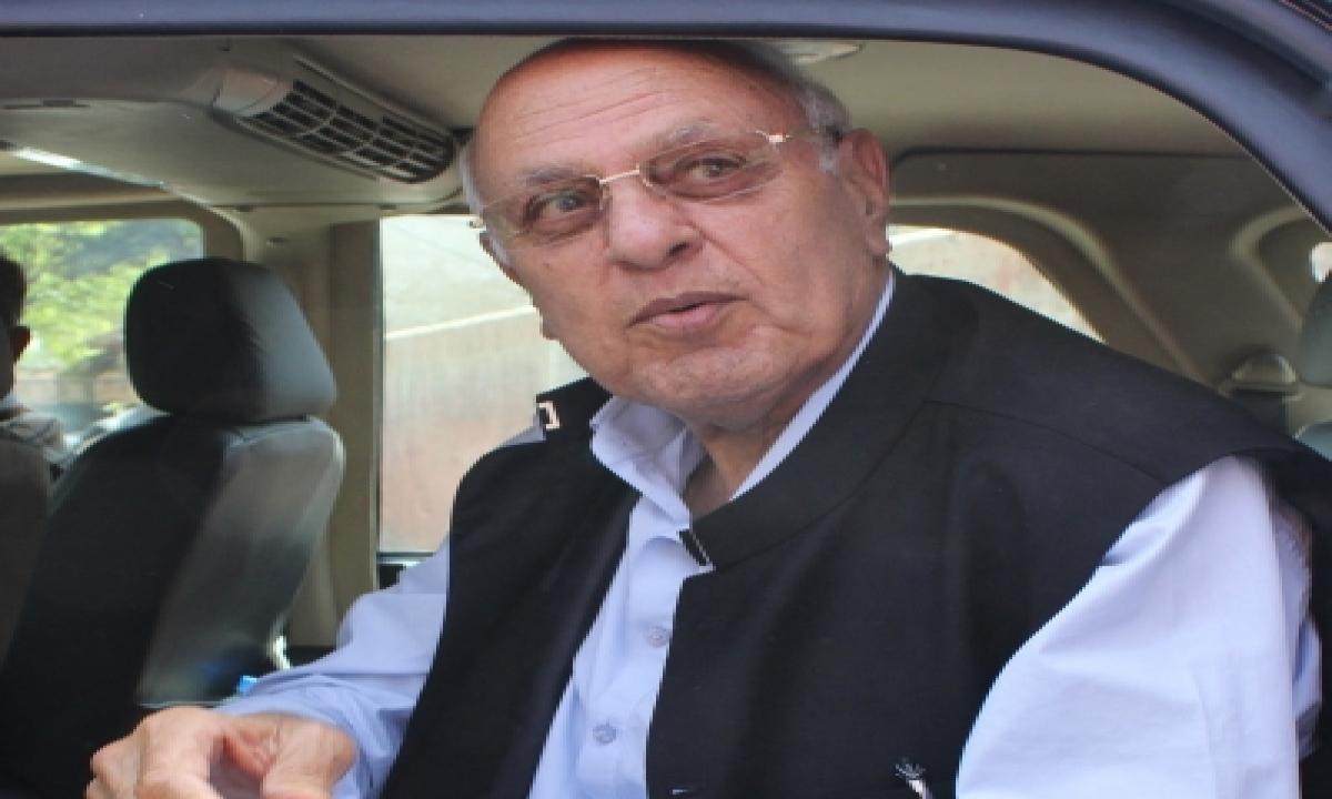 TeluguStop.com - Pagd Condemns Curbs On Farooq Abdullah's Movements