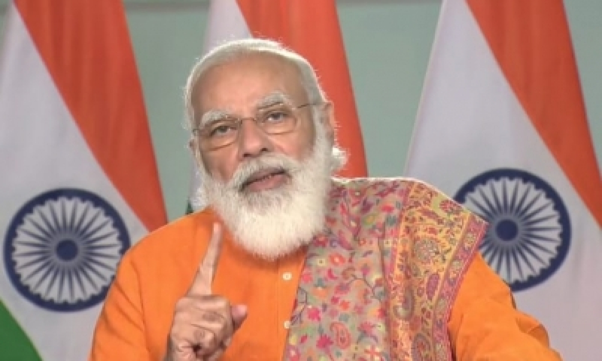 TeluguStop.com - Pm Launches Ferry Service, Says Shipping Ministry's Name Changed