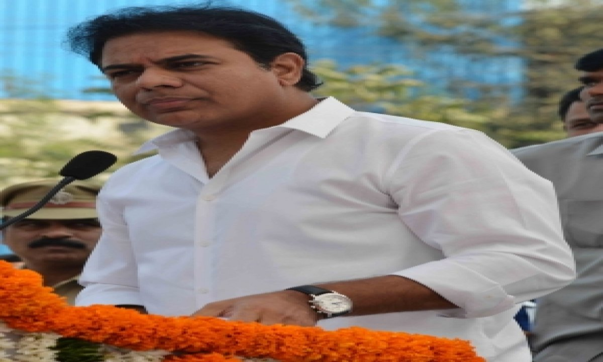 TeluguStop.com - Pm's Visit Was To Draw Political Mileage In Ghmc Polls: Ktr