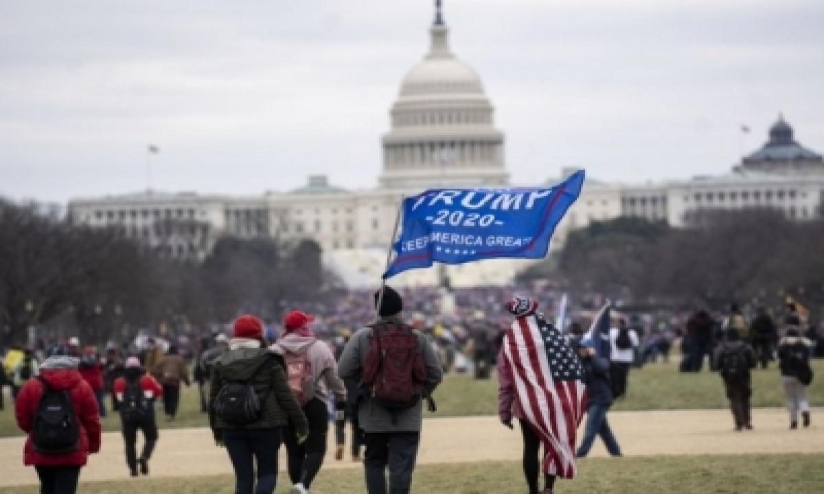 TeluguStop.com - Political Violence In Washington (opinion) (ld)
