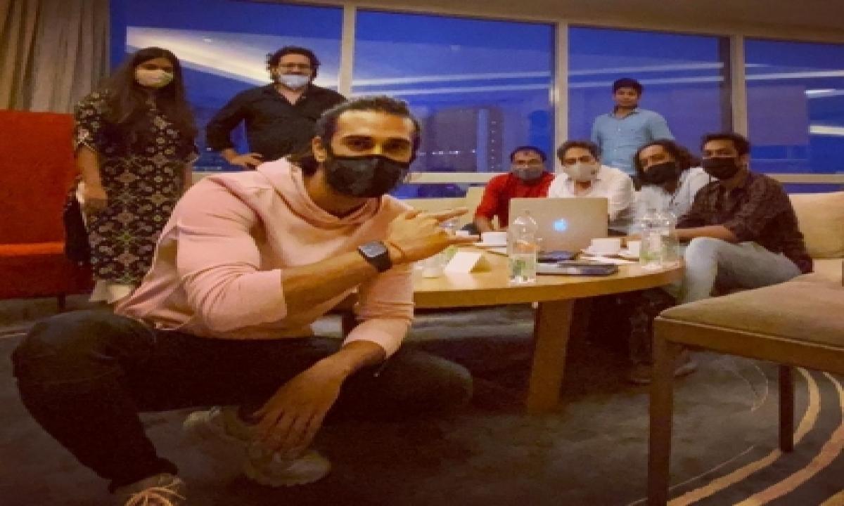 TeluguStop.com - Pulkit Samrat Starts Prep For 'suswagatam Khushamadeed'