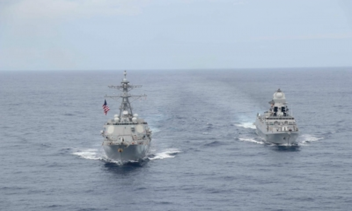 TeluguStop.com - Quad Coalition's Naval Drill In Indian Ocean Region Ends