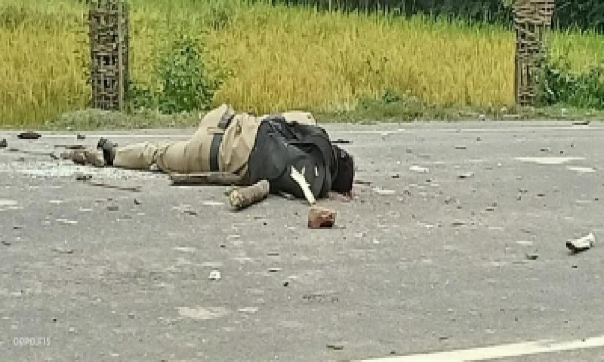 TeluguStop.com - Refugee Resettlement : Tripura Man Shot Dead In Police Firing, 23 Hurt (lead)