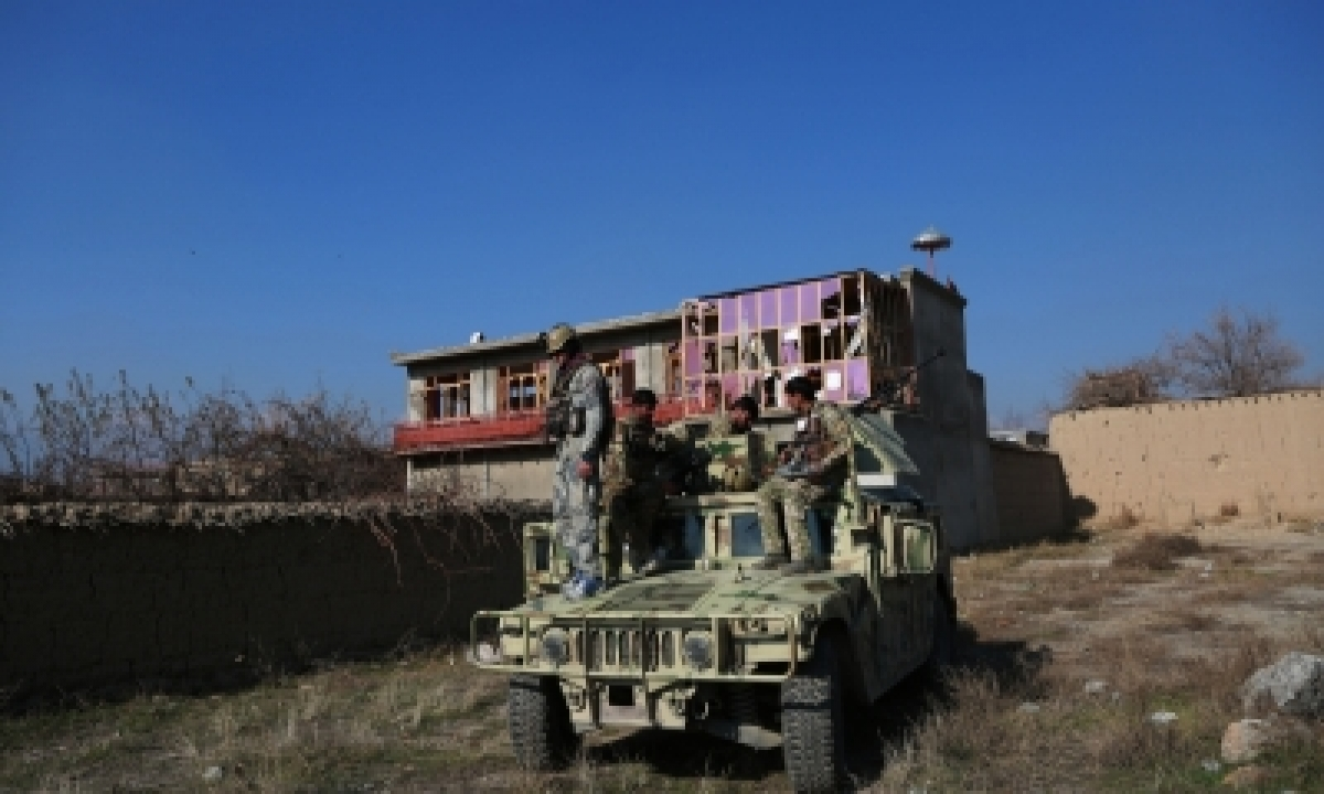 TeluguStop.com - Rockets Fired At Us Airbase In Afghanistan: Officials