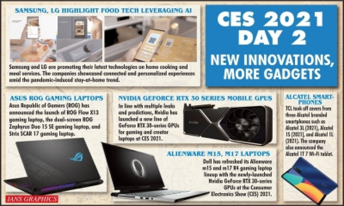 TeluguStop.com - Samsung, Lg Highlight Food Tech Leveraging Ai, Iot Solutions At Ces 2021
