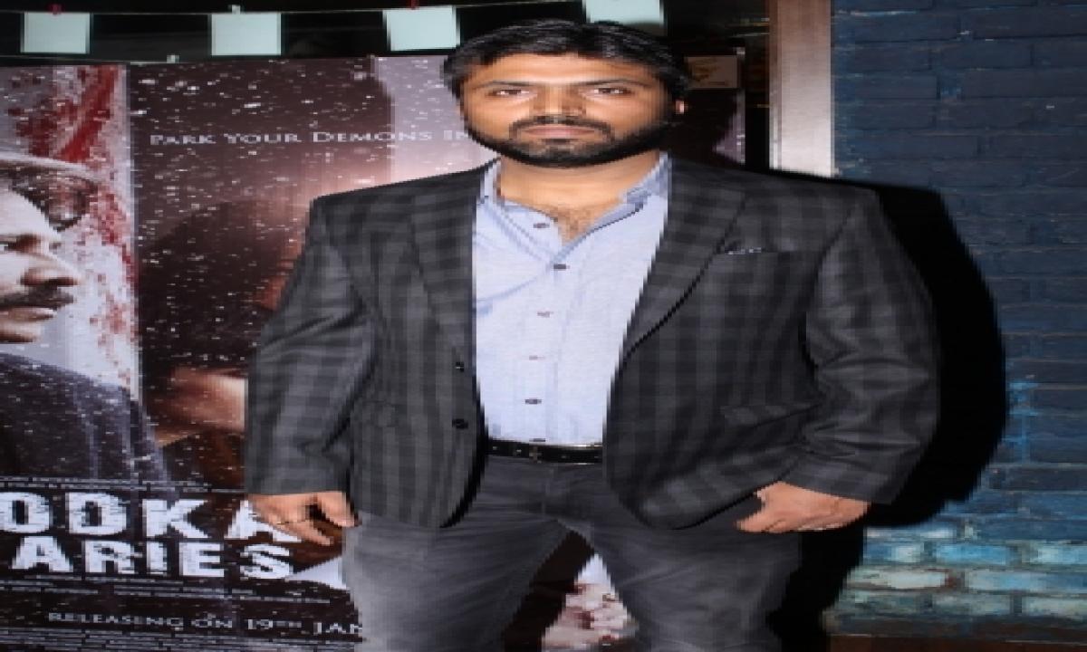 TeluguStop.com - Sharib Hashmi's New Film 'the Incomplete Man' About Juvenile Rapist And Punishment