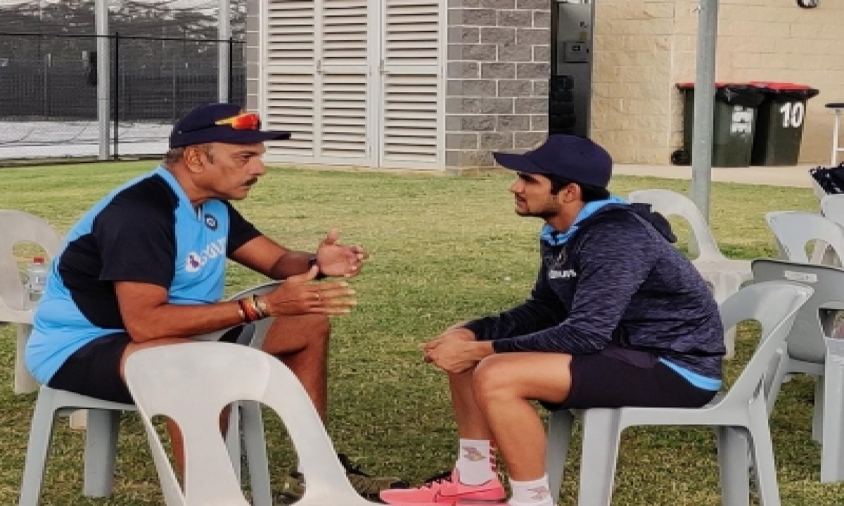 TeluguStop.com - Shastri Enjoys 'good Conversation' About Cricket With Gill Ahead Of Aus Odis