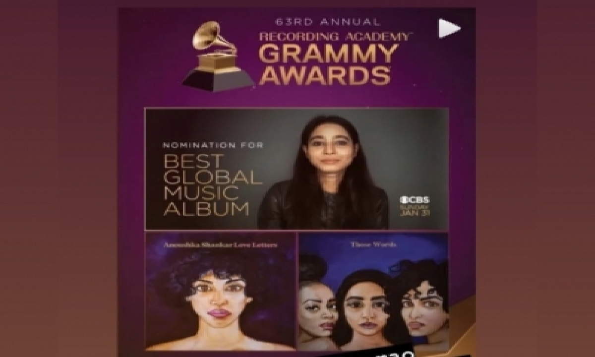 TeluguStop.com - Shilpa Rao Thrilled About Collaboration With Anoushka Shankar Getting Grammy Nod